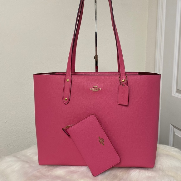 NEW💃Coach Set Central Tote With Zip and Wallet
